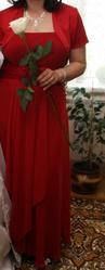 Продаю праздничное красное платье